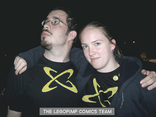Lego and Pimp in September 2007